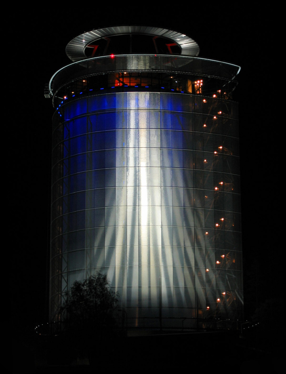 Arctura Water Tower, Ostersund, Sweden, Sweco FFNS, Tigris GKD Metal Fabrics